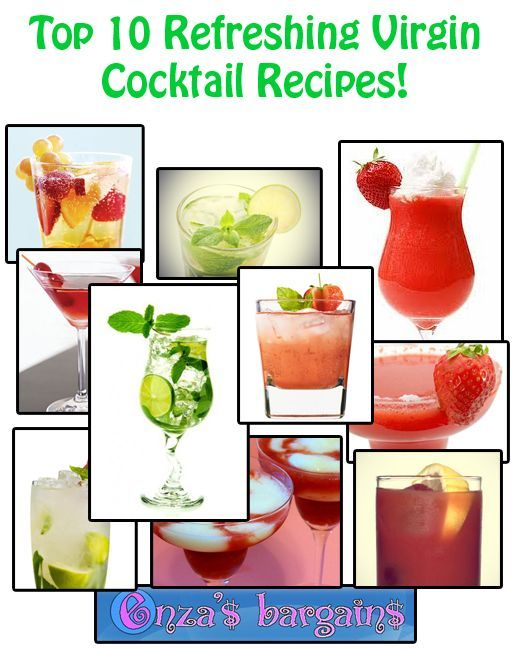 Best 25 virgin cocktail recipes ideas on pinterest non for Refreshing drink recipes non alcoholic