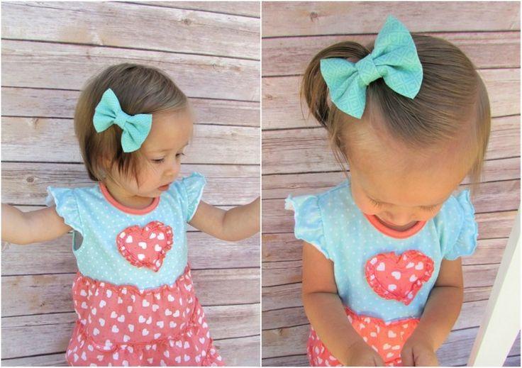 25 einfache Frisuren für kleine Mädchen, die 2 Minuten oder weniger brauchen #…