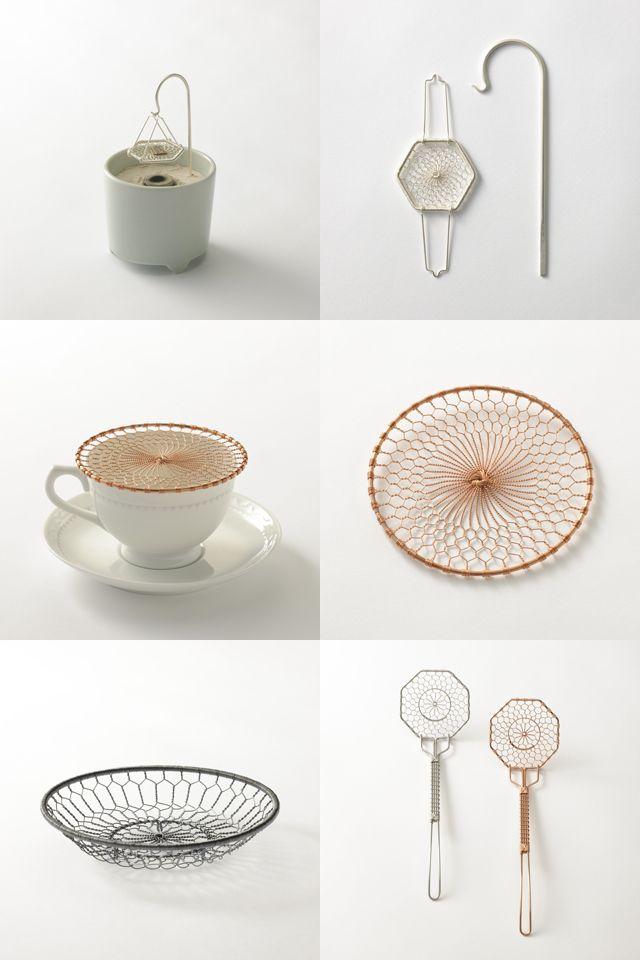 辻徹 / tea strainer via voicer.me