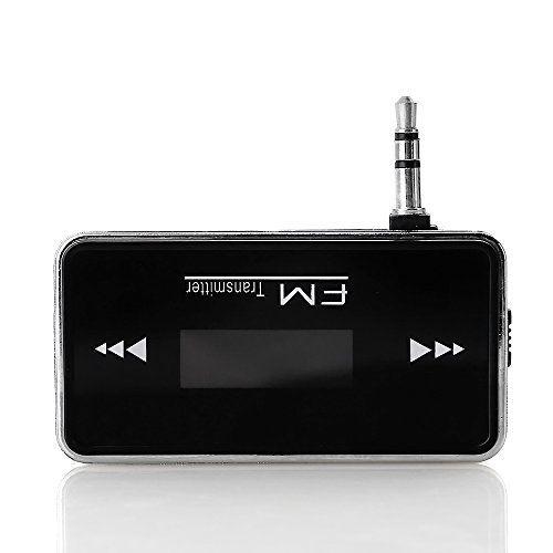 ZOGIN Mini Émetteur FM de Voiture Prise d'appel Main libre Transmission de musique pour ipod iPhone 4, 5, 5S, 6 et 6Plus / Samsung Galaxy…