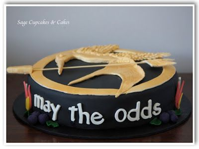 Sage Cupcakes: The Hunger Games: May the odds be ever in your favour.