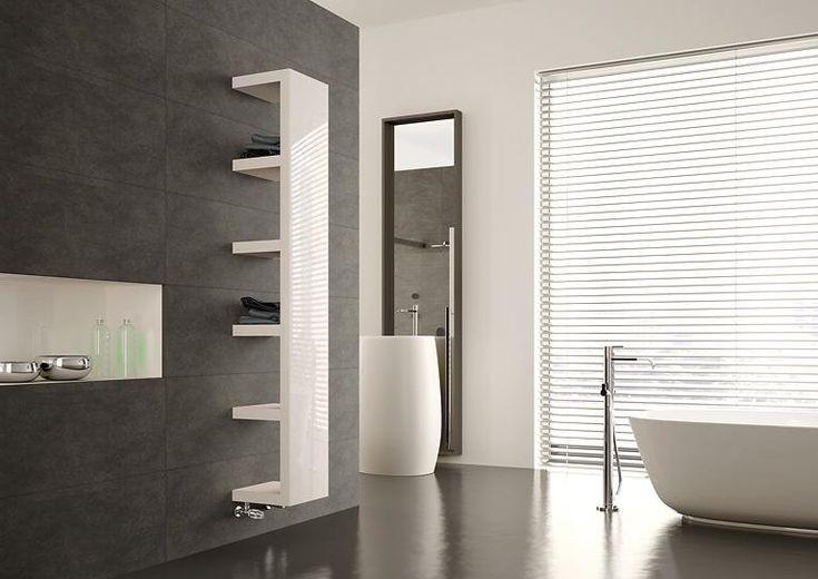 Mehr als nur Wärmespender: Bemm erweitert die Heizung im Bad um praktische Ablagefächer für Handtücher. Der Heizkörper mit dem streng funktionalen Design ist...