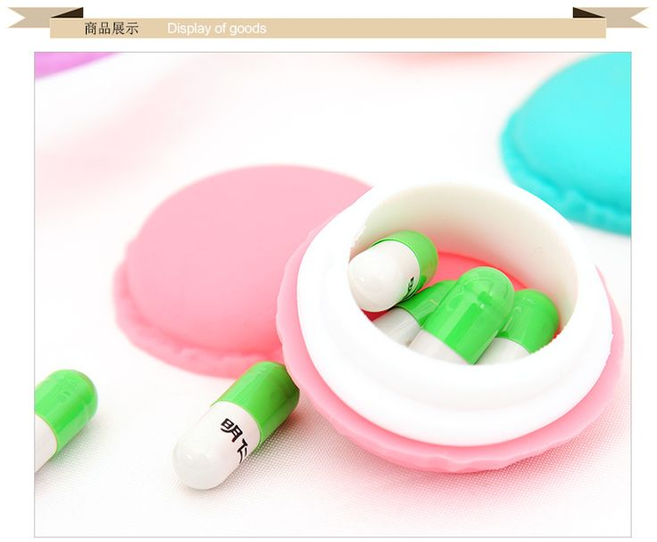 500pcs/lot Cute candy colored mini macarons modeling jewelry earrings necklaces rings portable storage box pill box #Affiliate