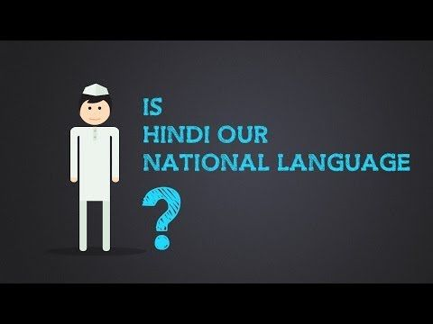 Know about India - Is Hindi our national language? - YouTube