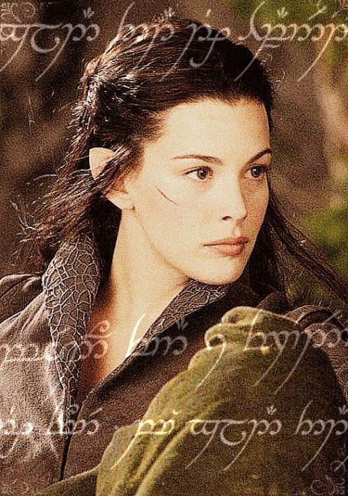 undomiel naked Arwen