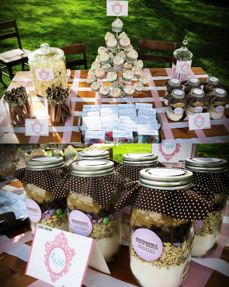 13 best images about bake sale table decor on Pinterest ...