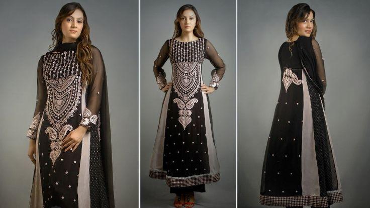 Stylish Pakistani Party Wear & Wedding Frocks 2015 for Girls