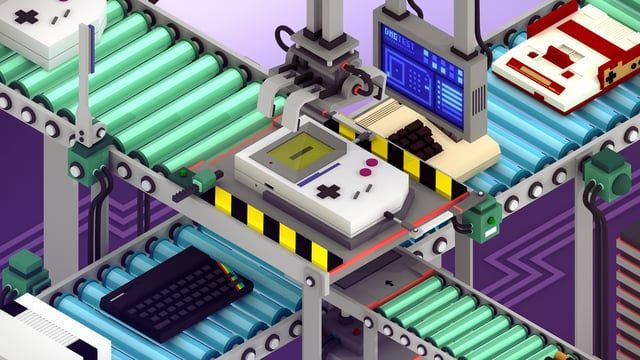 Opening titles for Europe In 8 Bits documentary. Direction, Design, Animation & Music: Device  EUROPE IN 8 BITS is a documentary directed by…