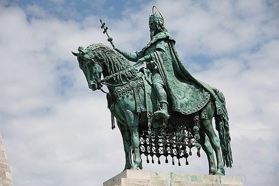 st stephen statue budapest - Google Search