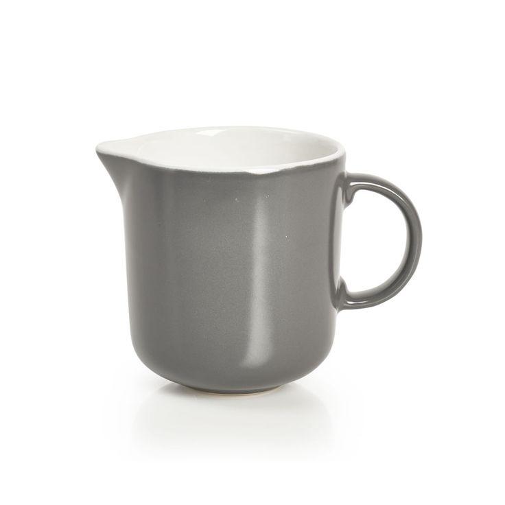 Wilko Utility Grey Milk Jug Milk Jug