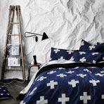 Crosses Marine Queen bed quilt cover