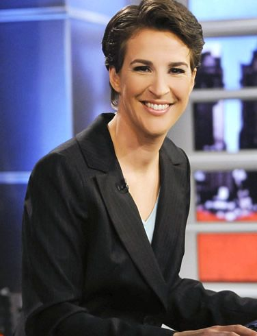 Rachel Maddow - A Rhodes Scholar and radio and television political pundit who has had a meteoric rise in the last decade. Witty, articulate, knowledgeable, sincere and likable, she is also an engaging interviewer.