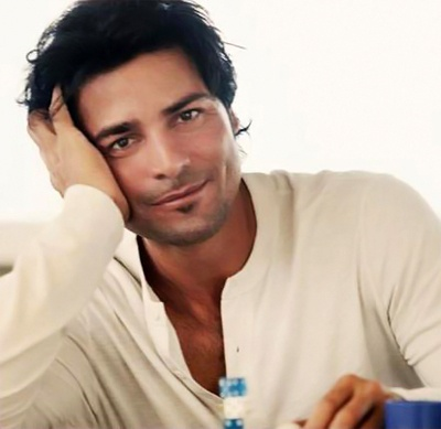 Chayanne... puertorrican singer...  My favorite ever.   The most gorgeous Latin man there is.