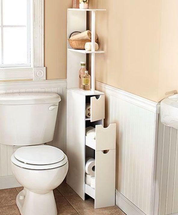 угловой шкафчик для ванной