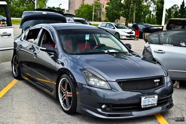 Photos: C-mod Nissan Altima 2007+ Sedan Mesh Grilles - Page 2 - Nissan Forums : Nissan Forum