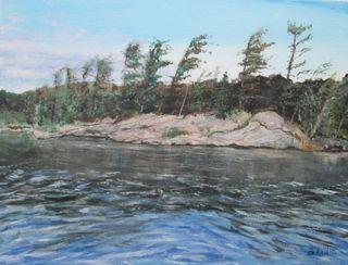 marine art briankillinart Georgian Bay Ontario Canada