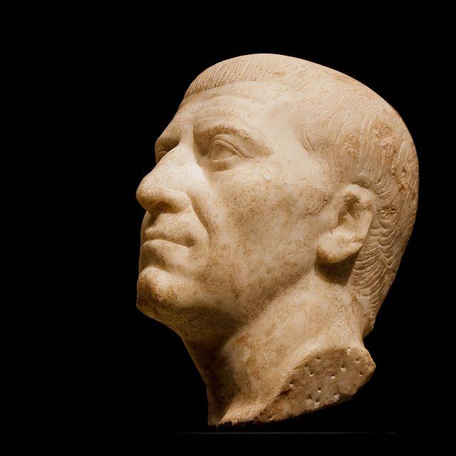 Portrait of Gnaeus Domitius Corbulo or of Gaius Cassius Longinus | by daverodriguez