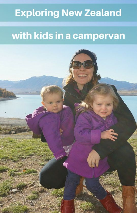 Tips for exploring New Zealand with kids in a campervan