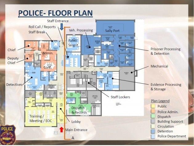 Police Station Plan