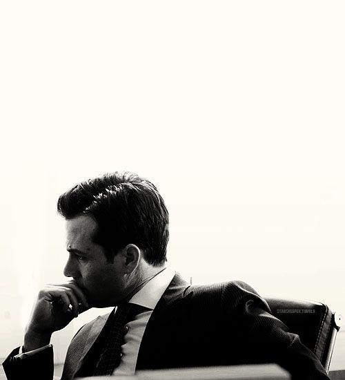 Harvey, on Suits.. (Gabriel Macht)