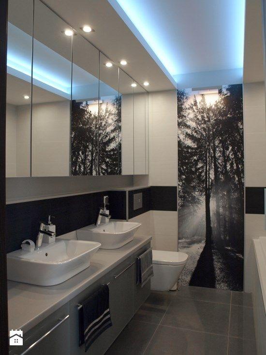 Znalezione obrazy dla zapytania mała nowoczesna łazienka