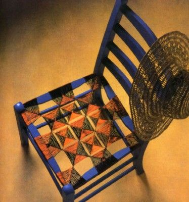 Плетение из проволоки. Как сделать плетеный стул.