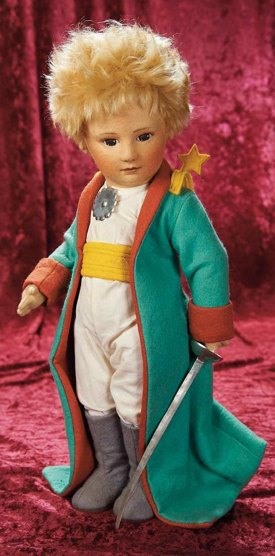 """American Felt Character """"The Little Prince"""" by R. John Wright"""