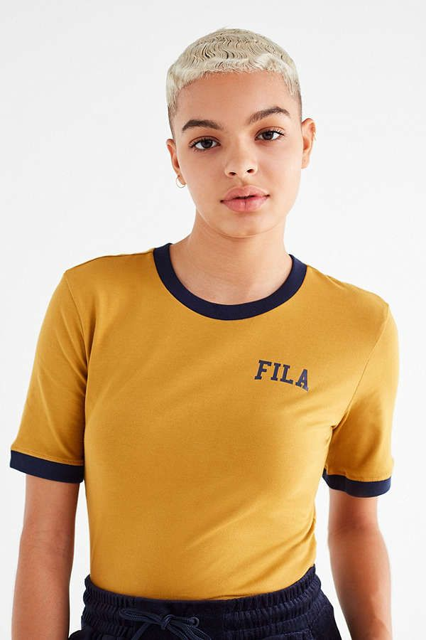 47d9775825fb Slide View  1  FILA Emmy Lou Ringer Tee 90s Outfit