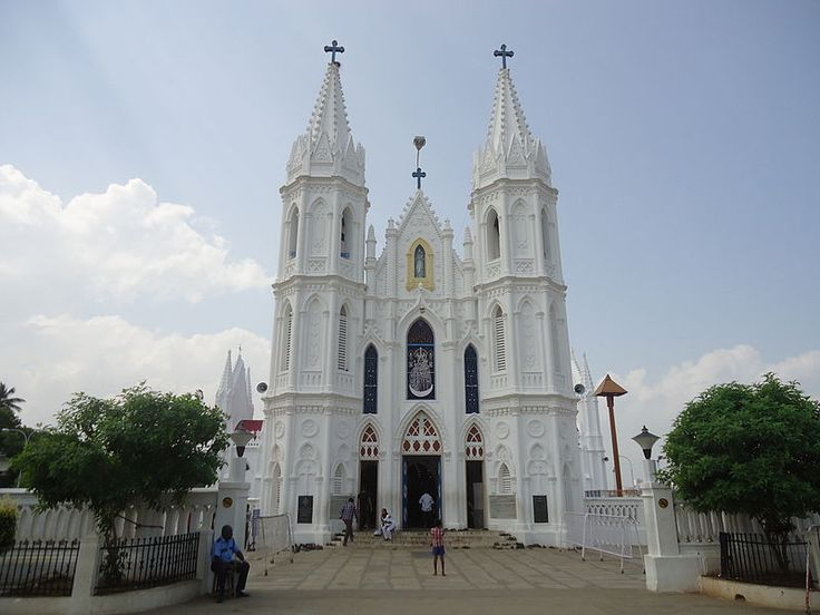 Basilica of Our Lady of Good Health in Velankanni, Tamil Nadu