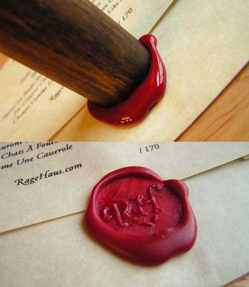 Ilustración del artículo Cómo hacer sellos de cera con corchos y maderas