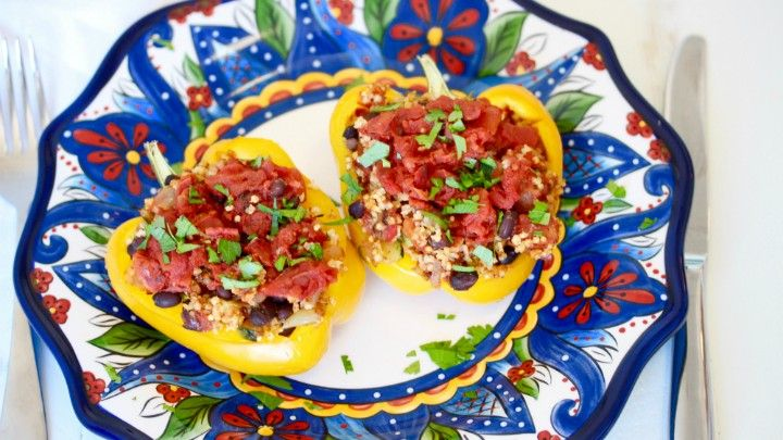The 28-Day Shrink Your Stomach Challenge Millet Stuffed Peppers | The Dr. Oz Show