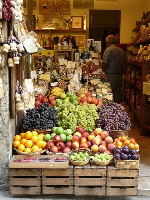 Foto: Seina Market Tuscany Italy