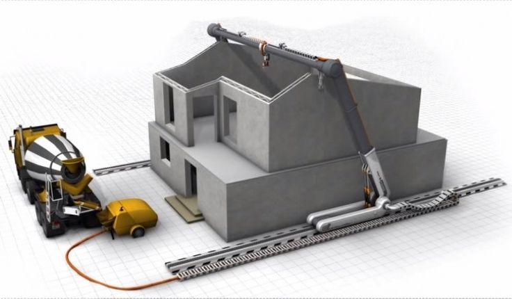 A group of scientists have created the technology to build a 3D house in just 24 hours.
