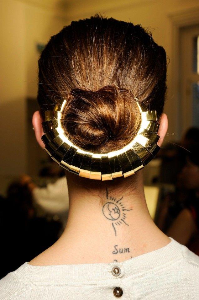 hair hair hair: Chignons Du, Chignons Des, Hairstyles, Hair Hair, Adr Mireselor, Golden Chignons, Beaux Chignons, Hair Style, Coafuri Adr