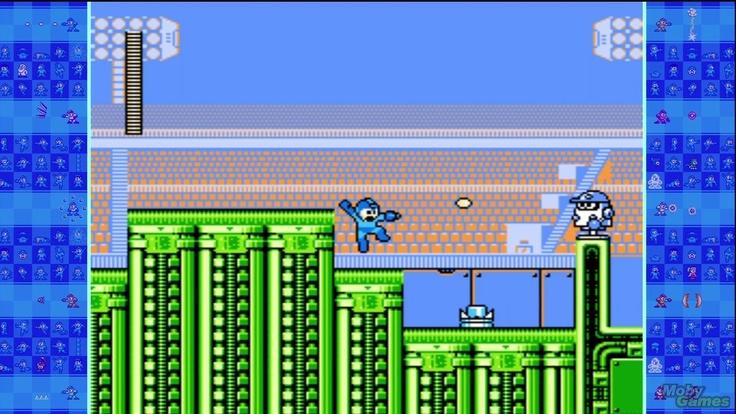 Mega Man 10 Xbox 360 Strike Man's stage.