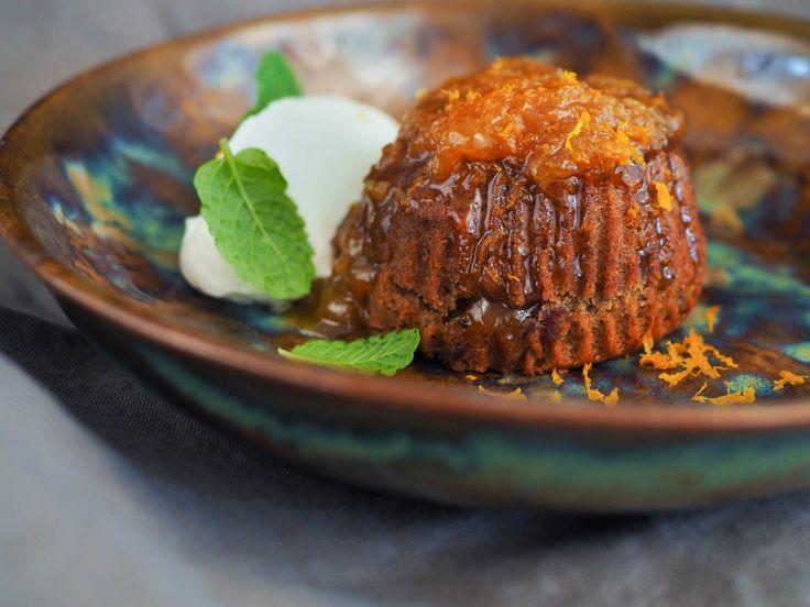 Datlový muffin, mandarinková marmeláda a šlehačka Chantilly | Oh My Chef