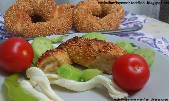 Denenmiş Kolay Yemek Tarifleri.: Simit-Susamli Simit Tarifi