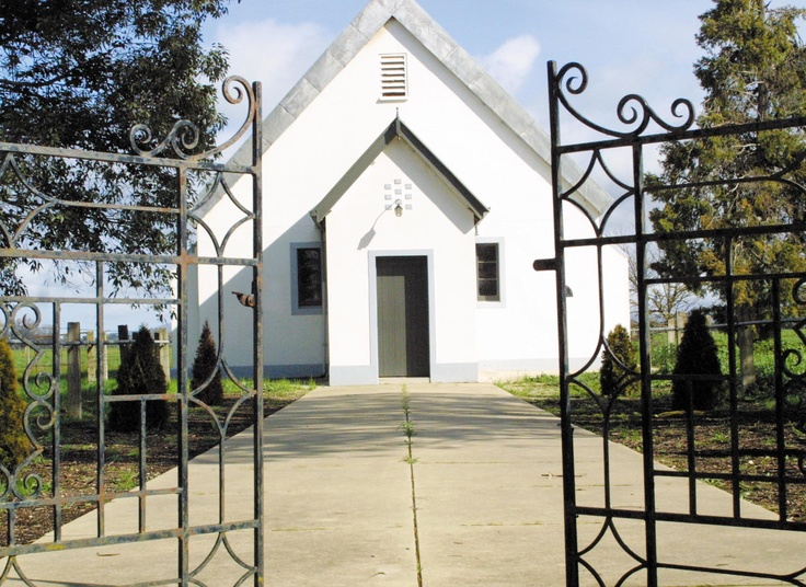 Milawa church - perfect for a country wedding.