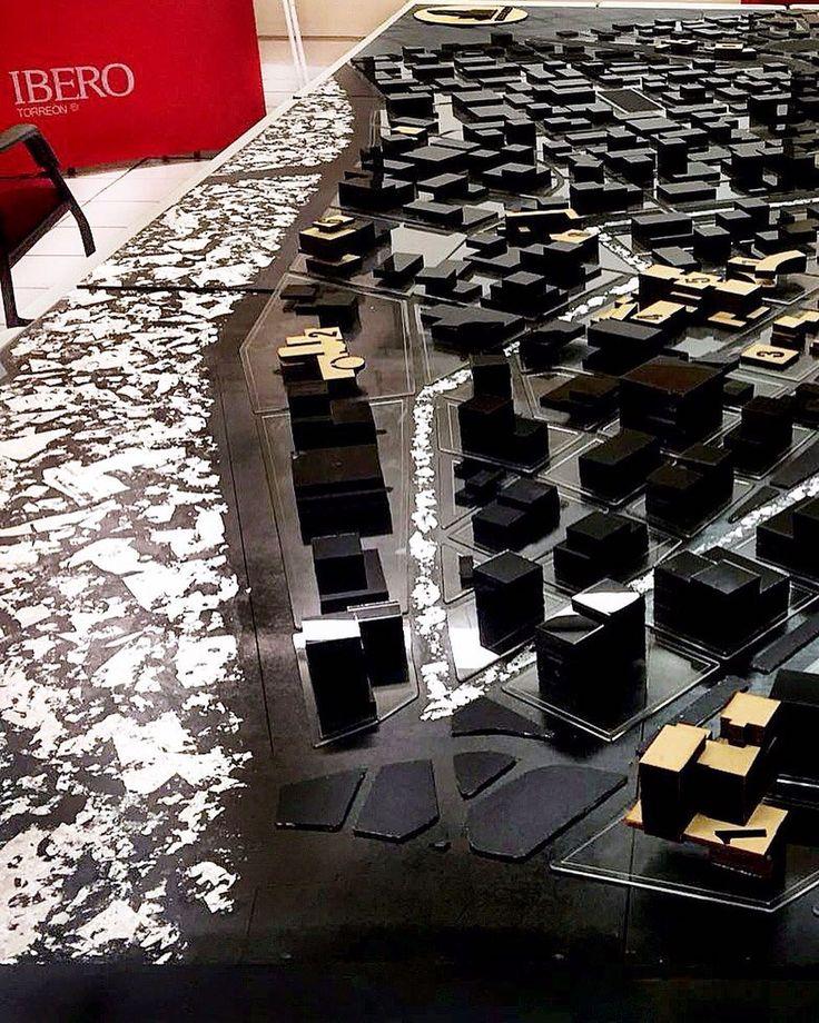 Proyecto final de alumnos de arquitectura Ibero Torreón   Maqueta Zona Eco   corte  grabado en Acrilico y MDF. #cortelaser #grabadolaser #lasercut #arquitectura #IDEE by idee.mex
