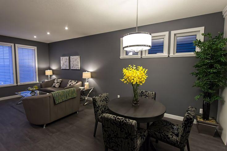 Open concept living room & dining area #homedecor #modern #classy #buildwithharmony #liveinharmony