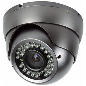 "EVF Day / Night Sony Effio-E 1/3"" 2.8-12mm 700TVL 30m Infra Red Dome Camera  Price: £69.95"
