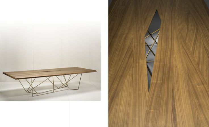 Bruno Moinard Editions Asan Dining Table #brunomoinard