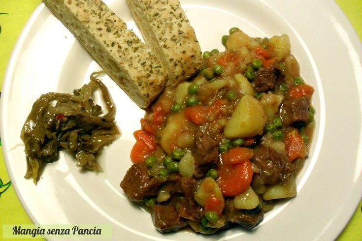 Spezzatino con patate e piselli, Mangia senza Pancia