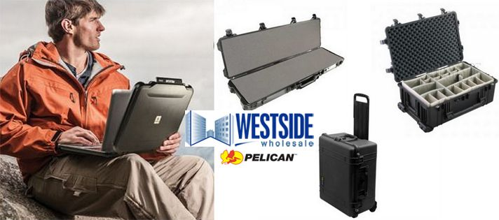 Pelican cases are available in different sizes including Micro, Small, Medium, Large, Tool Chest Size, a variety of Supply Box sizes, and numerous Weapons Case Sizes. Additionally, military grade cases are available in specialty sizes to protect larger equipment and supplies. In details see at http://www.westsidewholesale.com/pelican-cases