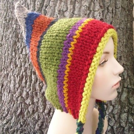 Knitting Pattern For Pixie Hat : 243 best Pixie Hat Crochet and Knit images on Pinterest Crochet ideas, Croc...