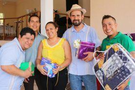 El Secretario General del Sindicato de Trabajadores al Servicio del Municipio de Jalpan de Serra, Jorge Magallón Rivera durante la...