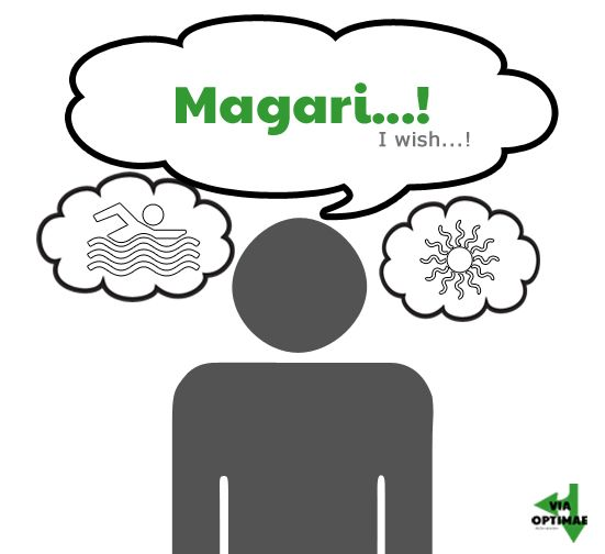 Magari…! — I wish….! Click through to see usage and sample sentences as well as submit your own! #italianphraseoftheday #learnItalian #italianphraseoftheday