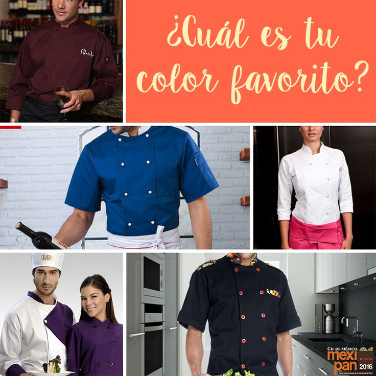 Si eres chef, seguro utilizas filipina, ¿cuál es tu color favorito?  #chef #chefs #filipina #Mexipan #mexico #mexipan2016 #masterchef #cheftable #cook #foodstagram #food #instafood