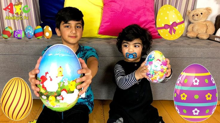 Easter Eggs 2018 TASTE Test Candy Review with Rumi and Wali - Åpning Pås...