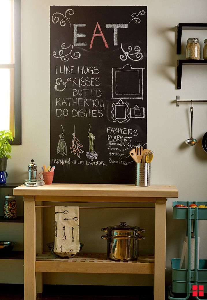 How To Make A Chalkboard Wall The Right Way With Rust Oleum Paint